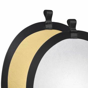 walimex Studio Pop-Up Reflector Golden/Silver, 56cm