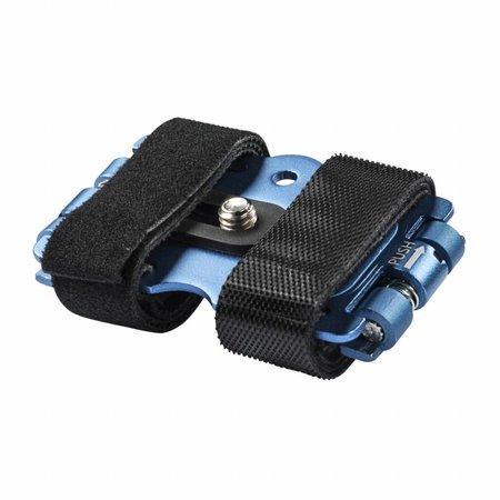 mantona GoPro Fiets-bevestiging, 1/4 inch, blauw
