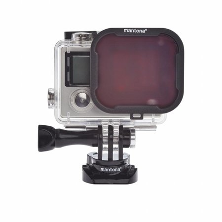 mantona GoPro Hero 4/3 Filter 4 kleuren Set