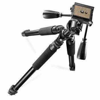 walimex pro Camera Tripod FT-665T, 185cm + Pro-3D Panhead