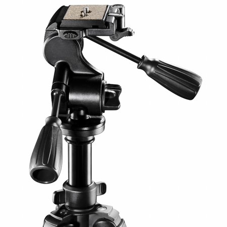 walimex pro Stativ FT-665T 185cm + Pro-3D Neiger