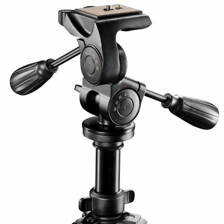 walimex pro Tripod FT-665T, 185cm + Pro-3D Panhead