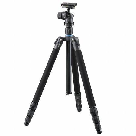 mantona Camera Statief SG-350 met Balhoofd zwart 168cm