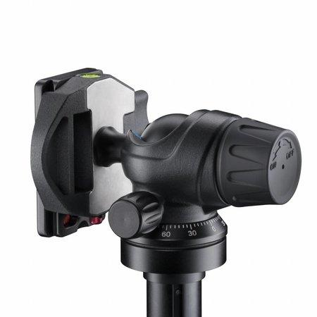 mantona Camera Statief Statiefkop SG-350 Zwart 168cm