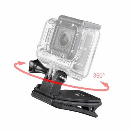 mantona GoPro Bevestigingsklem 360°