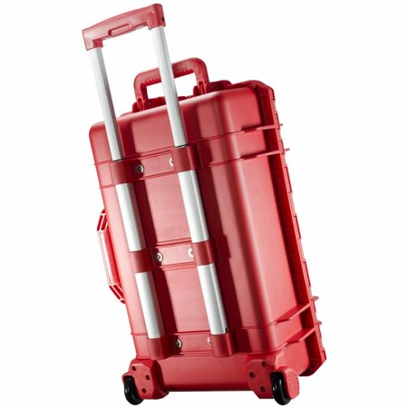 mantona Outdoor Protective Trolley, red