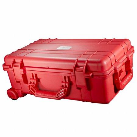 mantona Outdoor Beschermhoes Trolley rood