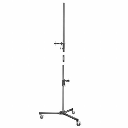walimex pro Light Stand Wheeled with 2 Clamp Holders