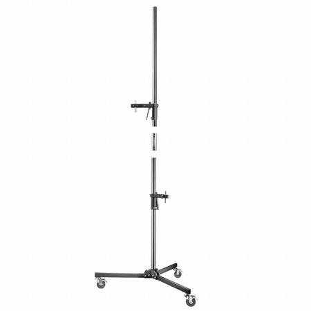 walimex pro Roll-Stativ, 223cm, mit 2 Klemmhaltern