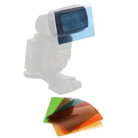 walimex Kleuren Filters Set voor Compacte flitsers, 6st