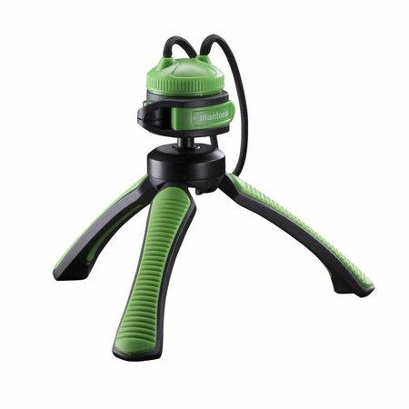 mantona Tripod Mini Kaleido Gaia lime green