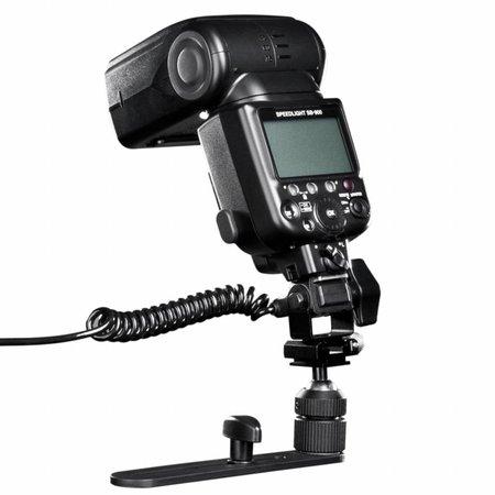 walimex Makro Blitzschiene Pro mit Y-Kabel Panasonic