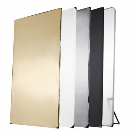walimex 5in1 Reflector Panel, 1x2m