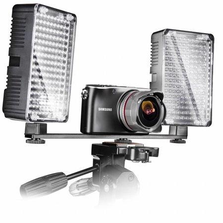walimex Ondersteunende beugel voor 2 Video Light