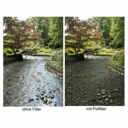 walimex Slim CPL Filter 55 mm, incl  Beschermdoosje