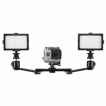 mantona Licht Set für GoPro Duo