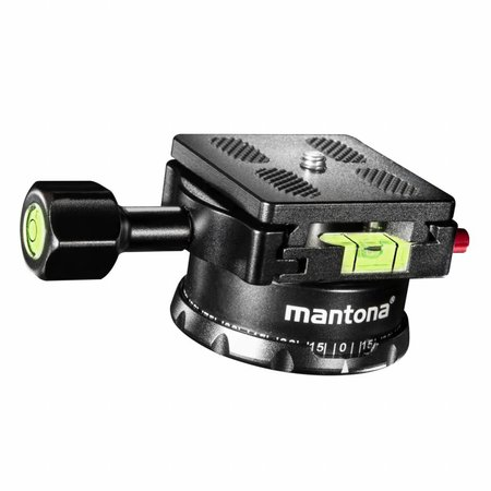 mantona Quick Release Plate Panorama Head 360