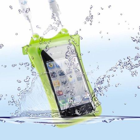 DicaPac Onderwatertas WP-i10 voor Iphone & Ipod, Groen