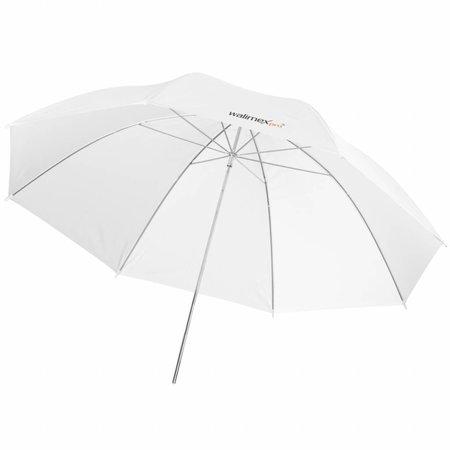 walimex pro Doorschijnende Studio Paraplu wit 84cm