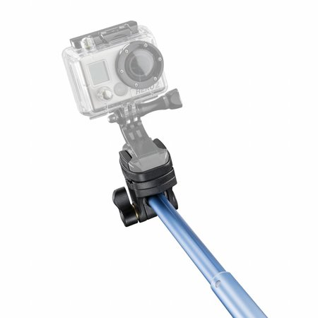 mantona hand tripod Selfy blue for GoPro etc.