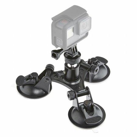 mantona GoPro 3-Bein Saugnapfhalterung L