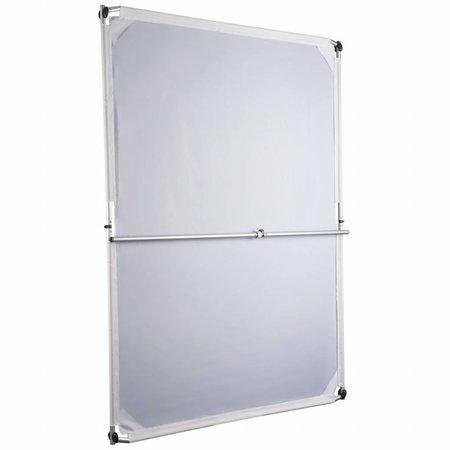 walimex pro Jumbo reflectorpaneel 4in1, 150x200cm