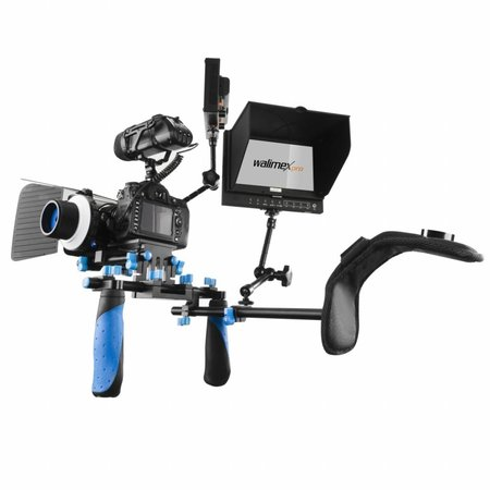 walimex pro Hand-Schouder-Video statief Director I