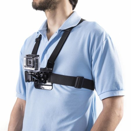"mantona chest strap for GoPro ""steady"""