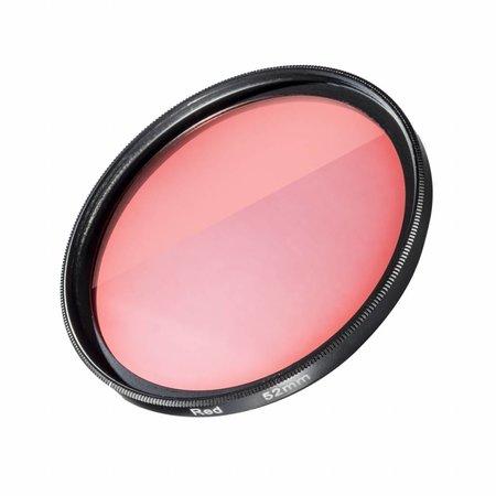mantona GoPro Filter Rood voor 52mm