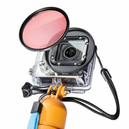 mantona Filter Rot für GoPro 58mm