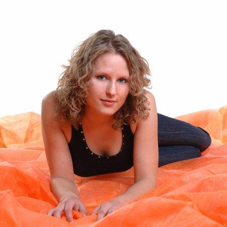 walimex Achtergronddoek  3x6m orange