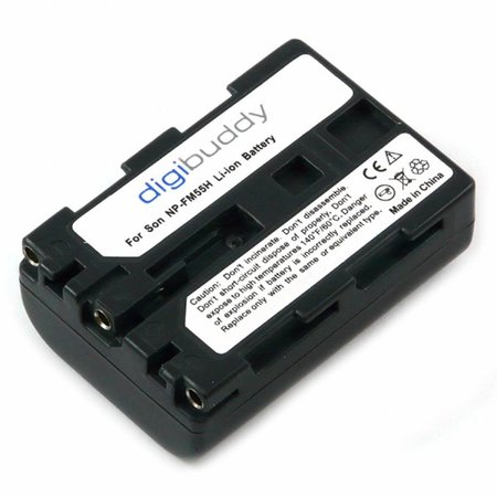 walimex NP-FM55H/NP-QM51 Li-Ion Battery for Sony, 1400mAh