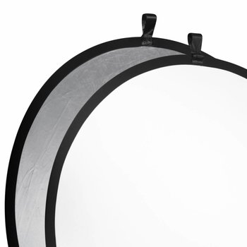 walimex Studio Pop-Up Reflector Silver/white, 107cm