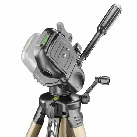 walimex Basic-Stativ WT-3530 mit 3D-Neiger, 146cm