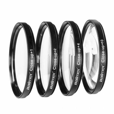 walimex Close up Makrolinsen-Set 62 mm