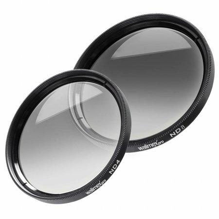 walimex Graufilter-Set ND4 & ND8 55 mm