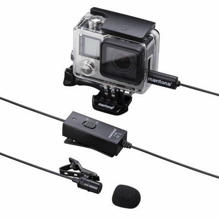 mantona Lavalier Microfoon voor GoPro 3/3 + / 4