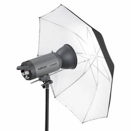 walimex pro Reflex 2in1 - Durchlichtschirm weiß 84