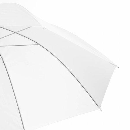 walimex pro Durchlichtschirm weiß, 109cm