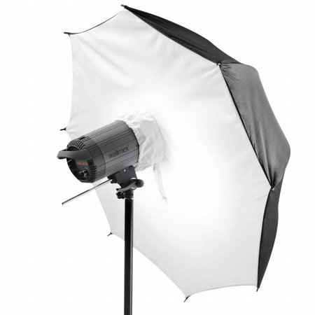 walimex pro Umbrella Softbox Reflector, 109cm