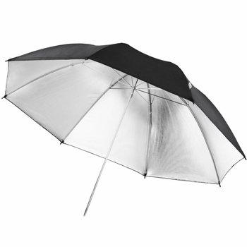 walimex pro walimex pro Reflectie Studio Paraplu Zwart/zilver 109cm