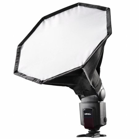 walimex Octagon Softbox Ø28cm für Systemblitz