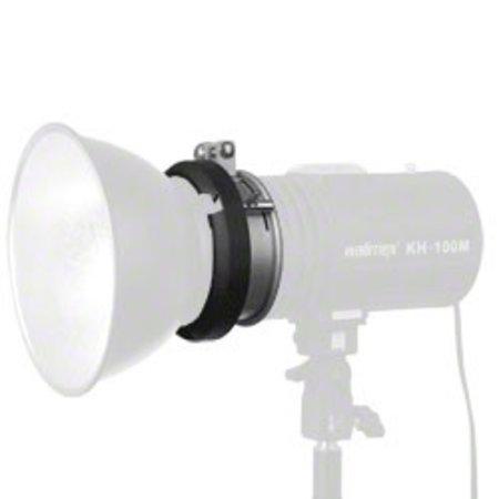 walimex S-Bajonet Adapter f  Studio Flitsers, 9,5cm