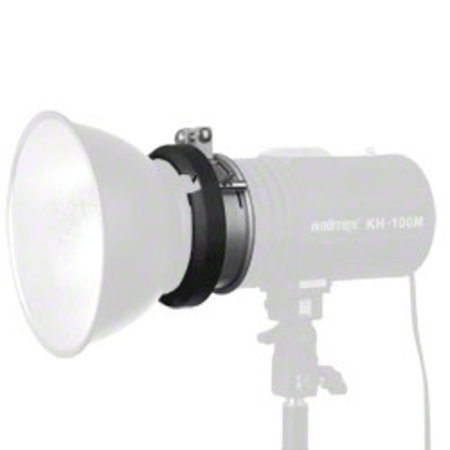 walimex S-Bajonett-Adapter für Studioblitze, 9,5cm