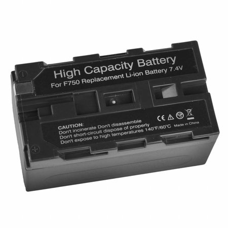walimex NP-F 750 Li-Ion Battery for Sony, 3600mAh