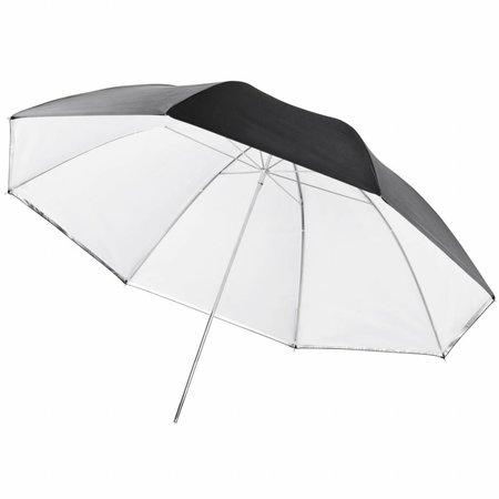 walimex pro Reflex 2in1 & Transl. Umbrella white 109cm