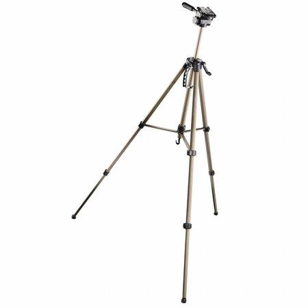 walimex Basic-Stativ WT-3570 mit 3D-Neiger, 165cm