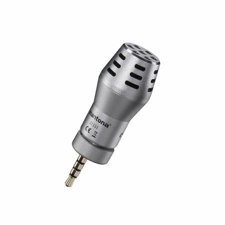 mantona Mikrofon für Smartphone