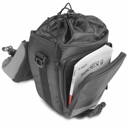 mantona Premium Colttasche schwarz / grau