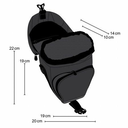 mantona Holster Bag Premium, black/gray